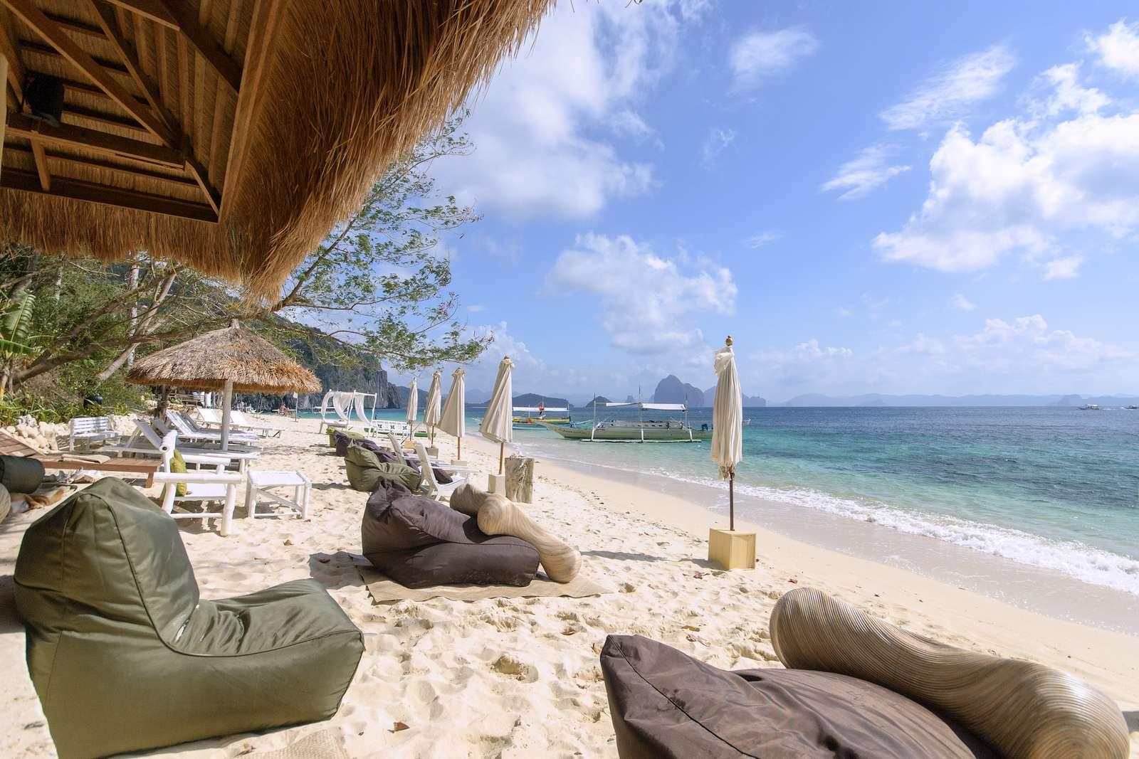 Seven Commandos Beach as viewed from Vellago Resort