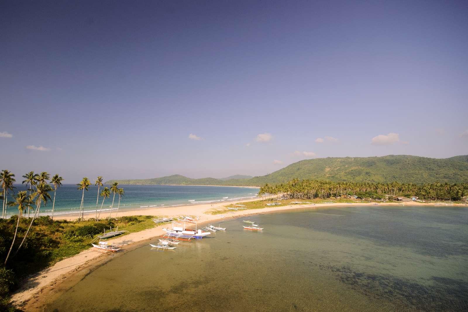 Calitang Beach, the other side of Nacpan Beach, El Nido