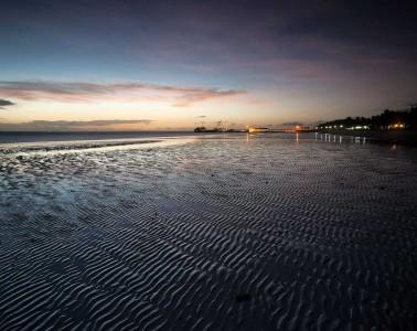 Dawn at Alice Beach, Bantayan Island