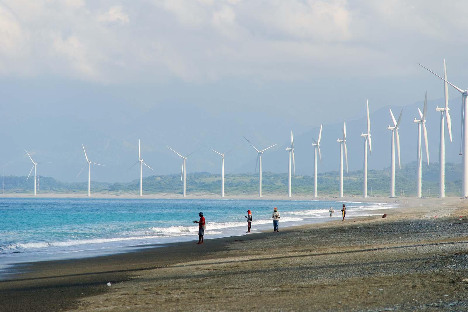 The Bangui Windmills